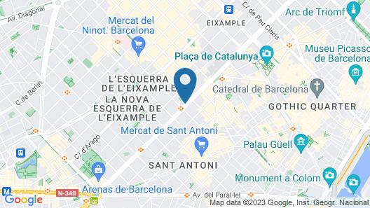 Soho Hotel Map