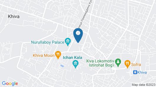 BEK Khiva Hotel Map