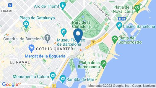 Santa Marta Map