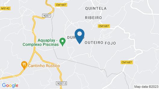 Palheiro Room - Quinta de Areda Wine & Pool Experience Map