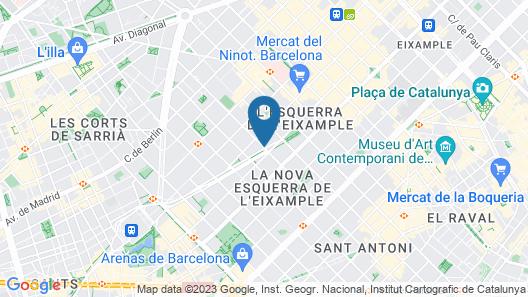 Sercotel Amister Art Hotel Map