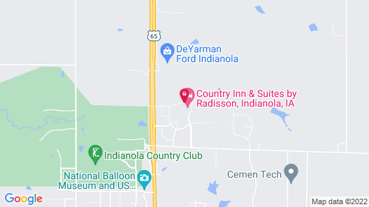 Country Inn & Suites by Radisson, Indianola, IA Map