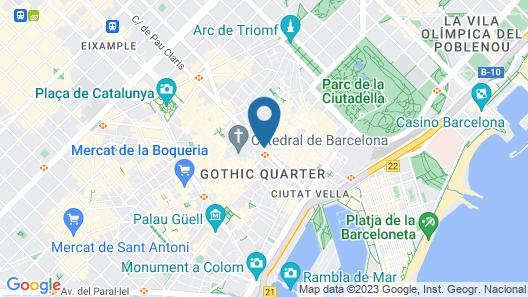 H10 Montcada Boutique Hotel Map