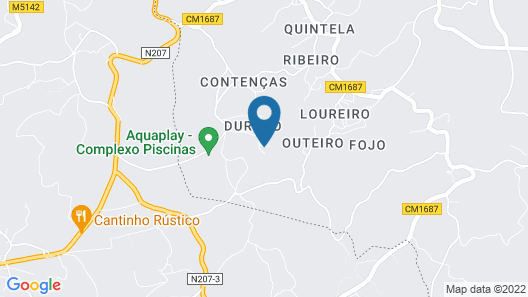 Casa do Lago - Quinta de Areda Wine & Pool Experience Map