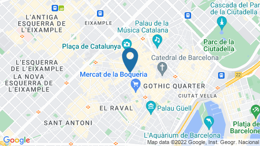 Royal Ramblas Map