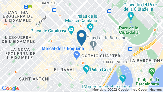 Kimpton Vividora Hotel, an IHG Hotel Map
