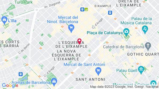 Acevi Villarroel Map