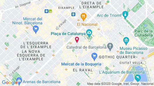 Hotel Lleó Map