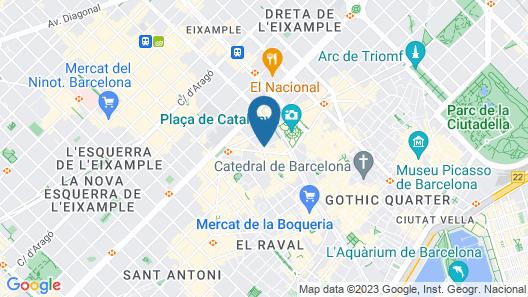 St Christopher's Inn, Barcelona - Hostel Map