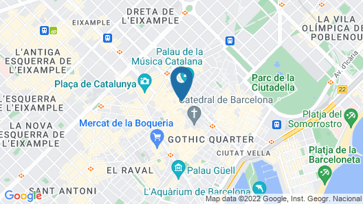 Catalonia Magdalenes Map