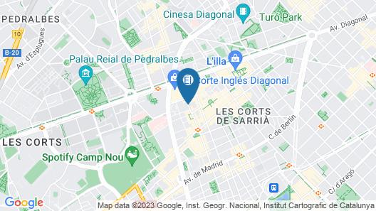Aparthotel Atenea Map