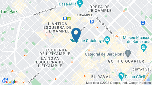 Axel Hotel Barcelona & Urban Spa - Adults Only Map