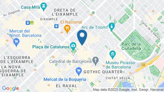 Fontanella Green House Map
