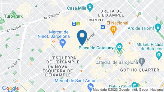 Cram Hotel Map