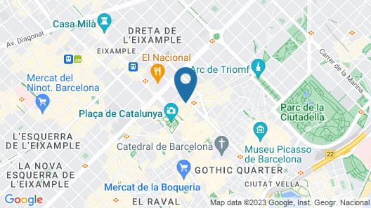 Bcn Urbaness Gran Ducat Map