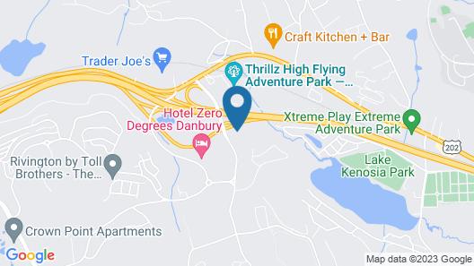Crowne Plaza Danbury, an IHG Hotel Map