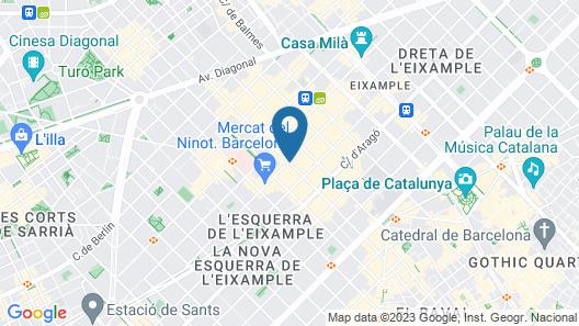 The Corner Hotel Map