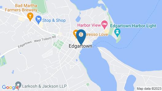 The Harborside Inn Map