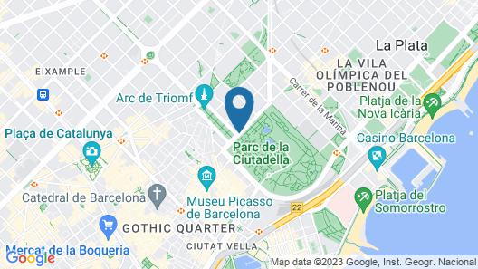 La Ciudadela Map