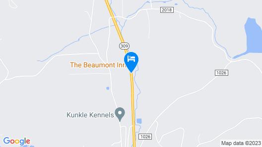 The Beaumont Inn Map
