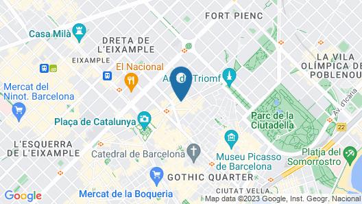 Vincci Gala Map
