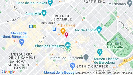Hotel Granvia Map
