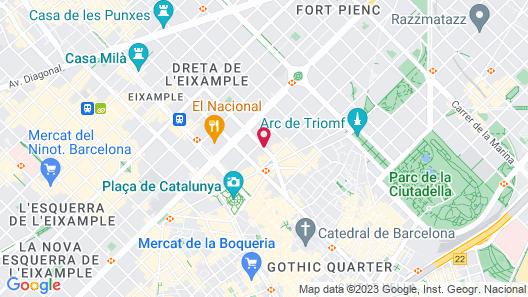 Negresco Princess Map