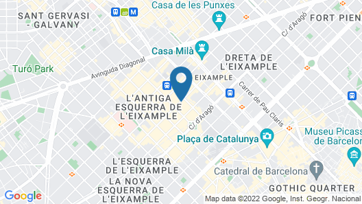 Balmes Map