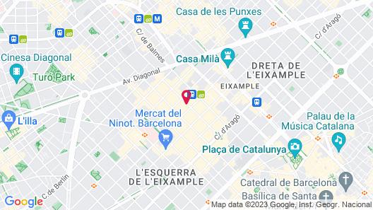 Hotel Granados 83 Map