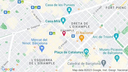 Hotel HCC Regente Map