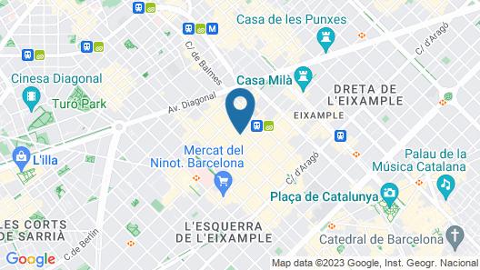 Bcn Urbaness Gran Rosellon Map