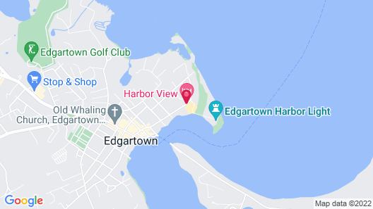 Harbor View Hotel Map