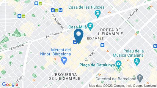 Olivia Balmes Hotel Map