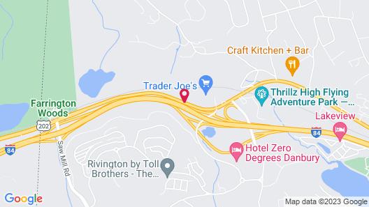 Hilton Garden Inn Danbury Map