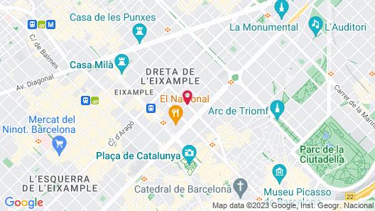Hostal Bcn 46 Map