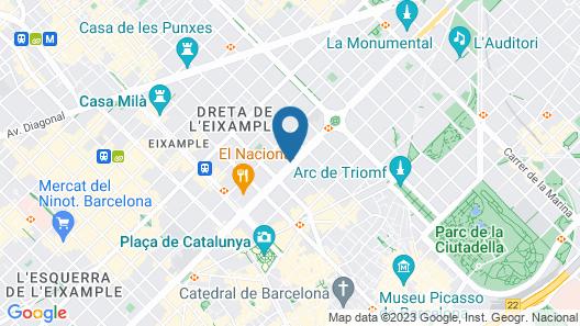 Gran Hotel Havana Map