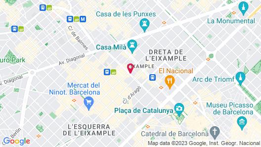 Ona Hotels Mosaic Map