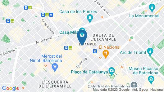 Ciudad Condal Map