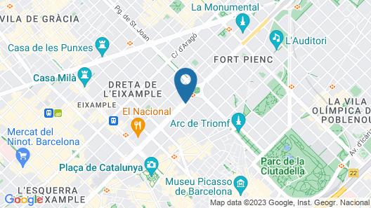 Hotel Casa Bonay Map