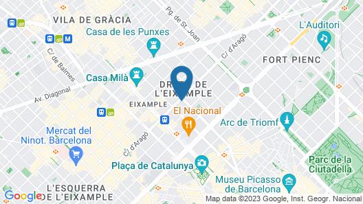 OD Barcelona Map