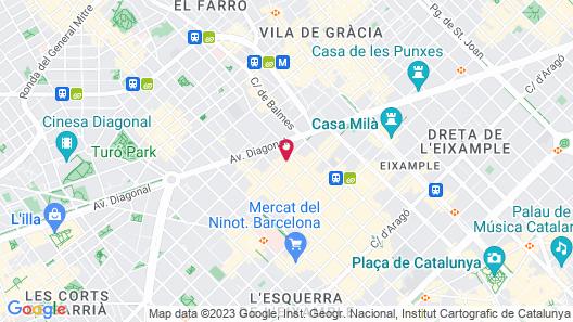 Astoria Map