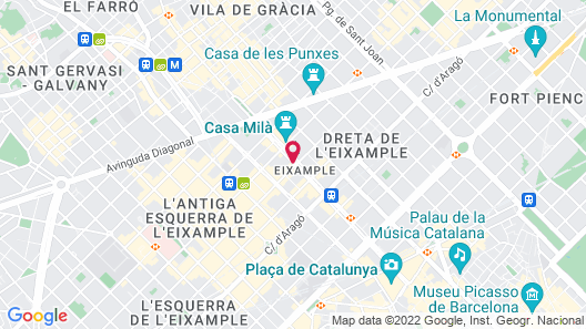 Monument Hotel Map