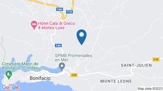 Hôtel et SPA Version Maquis Citadelle Map