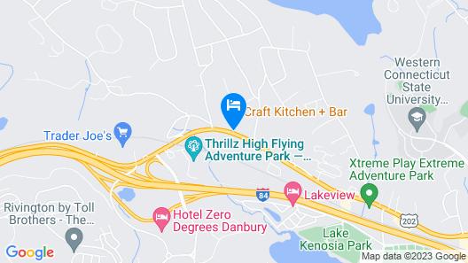 Holiday Inn Express Hotel & Suites Danbury - I-84, an IHG Hotel Map
