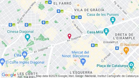 Wilson Boutique Hotel Map