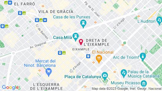 Alma Barcelona GL Map