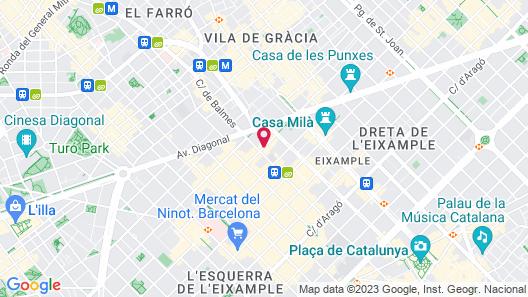 Ohla Eixample Map