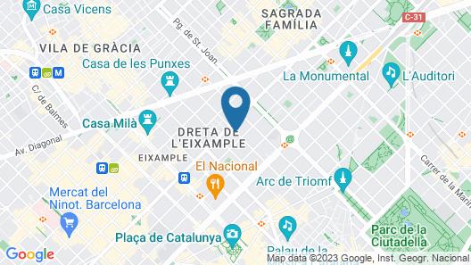 Roca Rooms & Apartments Map
