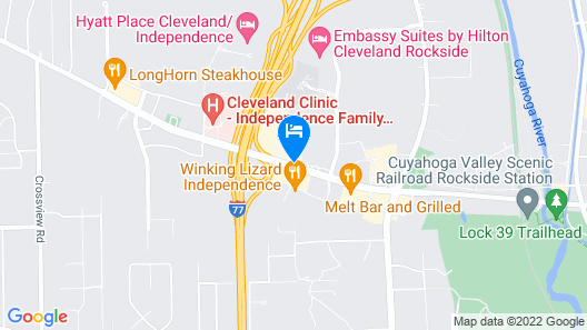 Holiday Inn Cleveland-S Independence, an IHG Hotel Map