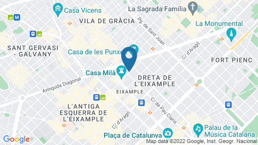 The One Barcelona GL Map